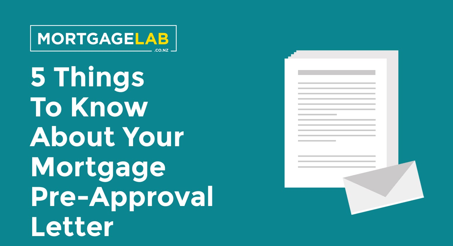 5 Things To Know About Your Mortgage Pre-Approval Letter of Offer