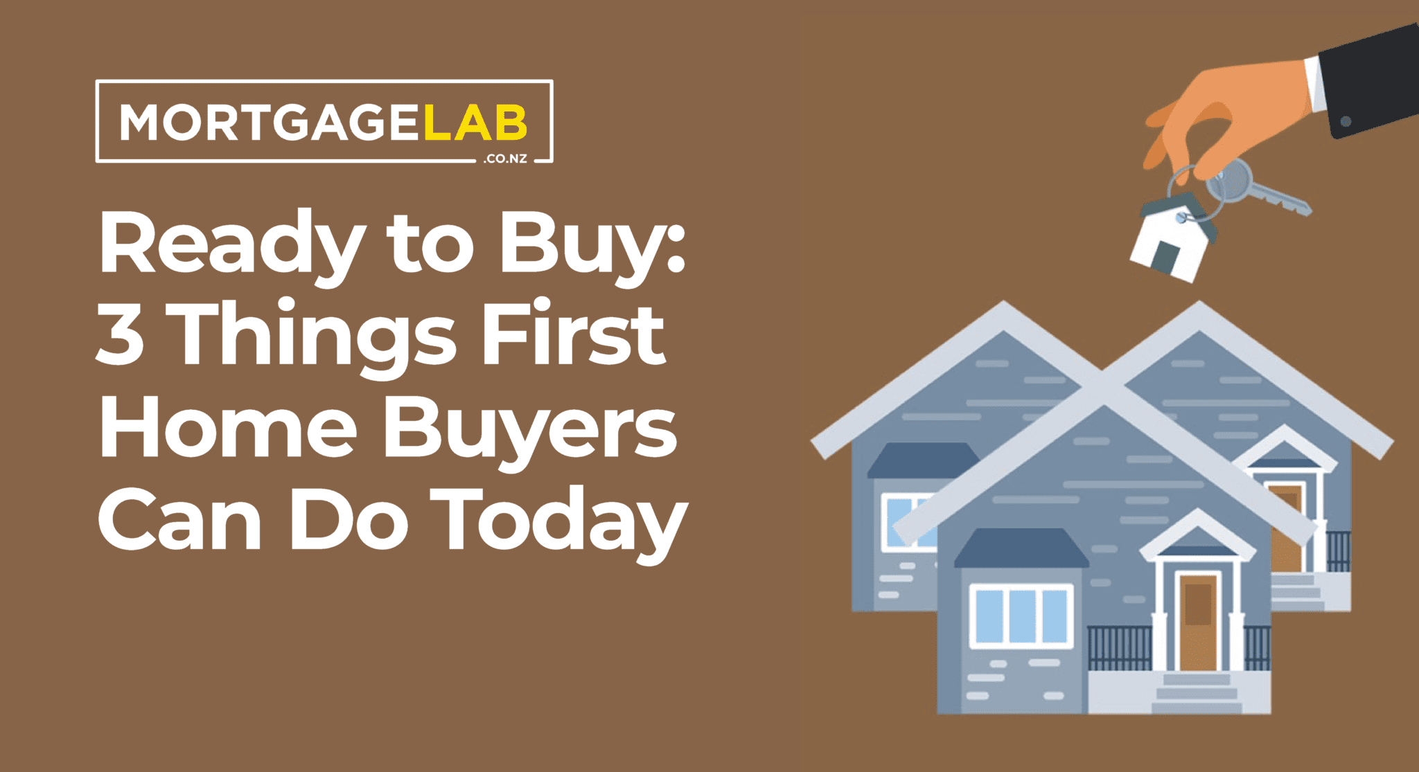 Ready to Buy: 3 Things First Home Buyers Can Do Today